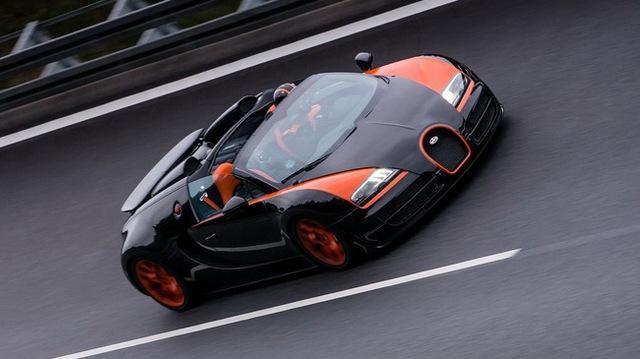 Xem Veyron Grand Sport Vitesse lập kỷ lục tốc độ