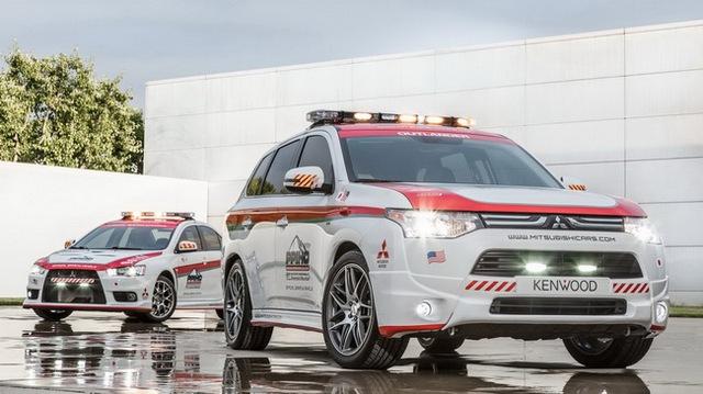 Mitsubishi được chọn làm xe an toàn tại Pikes Peak Hill Climb