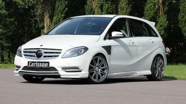 Xe gia đình Mercedes-Benz B-Class đẹp và mạnh mẽ hơn