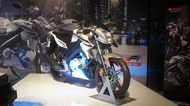 Yamaha trình làng naked-bike FZ150i giá 67,5 triệu đồng