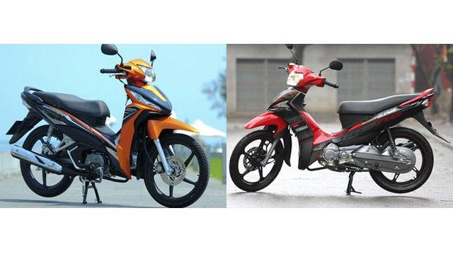 So sánh Yamaha Sirius Fi 2014 và Honda Wave RSX Fi 2014 trên thông số