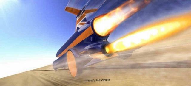 Bloodhound SSC – Mẫu xe chinh phục tốc độ 1600km/h