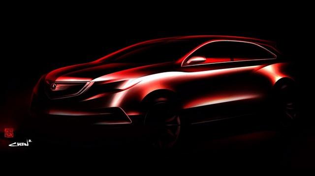 """Acura hé lộ hình ảnh MDX 2014 cùng triết lý """"Điêu khắc khí động"""""""