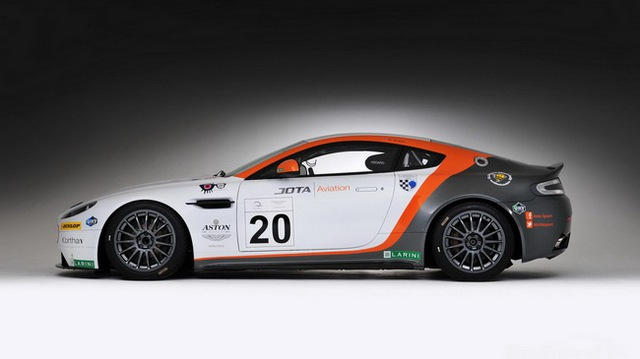 Jota Racing ra mắt xế đua Aston Martin Vantage GT2