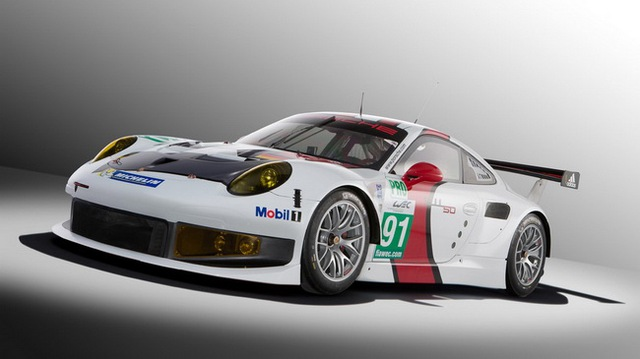 Xế đua Porsche 911 RSR 2013 chính thức trình làng