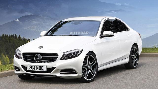Mercedes-Benz C-Class thế hệ mới: Vượt trội về công nghệ