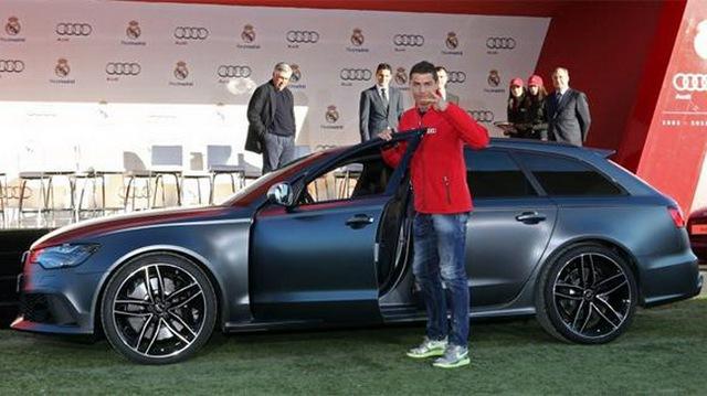 Một nửa cầu thủ Real Madrid đi Audi Q7