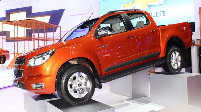 Chevrolet Colorado 2014 ra mắt tại Thái Lan