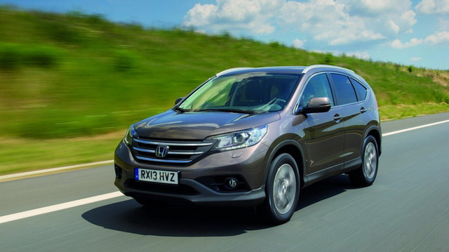 Honda CR-V 1.6 Diesel tiết kiệm nhiên liệu không ngờ