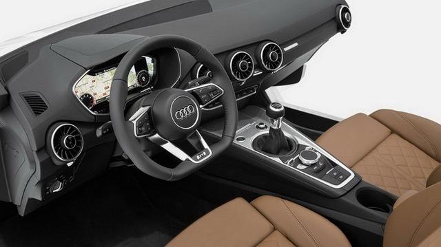 Audi TT thế hệ mới sẽ có nội thất siêu hiện đại