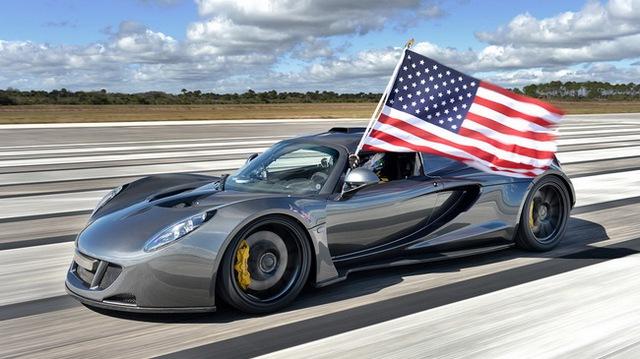 Hennessey Venom GT: Kỷ lục gia tốc độ mới trong thế giới xe