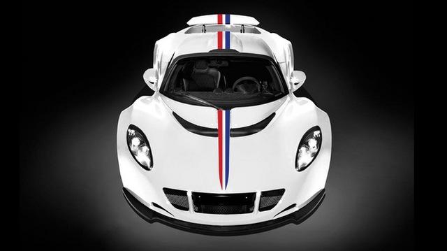 """Hennessey Venom GT phiên bản """"nhanh nhất thế giới"""""""