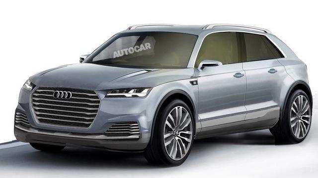 Audi Q8 sẽ ra mắt vào năm 2017