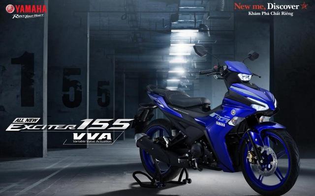 Yamaha Exciter 155 VVA - Côn tay thể thao cỡ nhỏ lấy cảm hứng từ YZF-R1