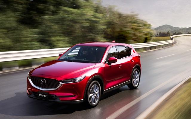 Bán kỷ lục năm 2020, Mazda CX-5 tiếp tục trong top được mua nhiều nhất đầu năm 2021