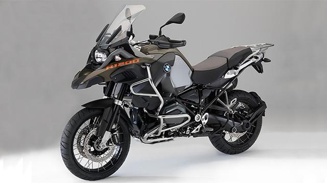 Hé lộ hình ảnh mới của BMW R1200GS Adventure 2014