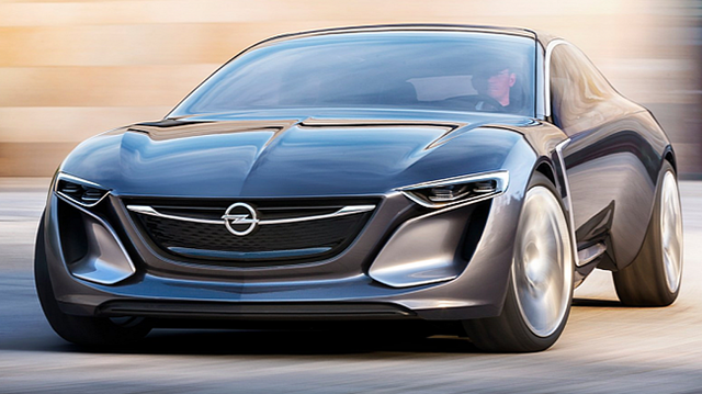 Opel Monza - Mẫu xe mang thiết kế của tương lai