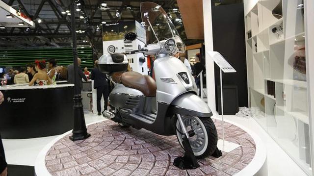 Dàn scooter cực đẹp của Peugeot tại EICMA