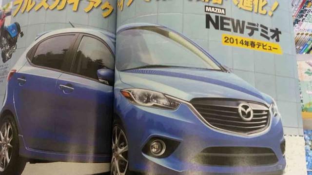 Lần đầu diện kiến Mazda2 thế hệ mới