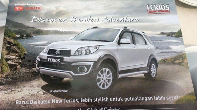 Daihatsu Terios 2014: Nam tính hơn