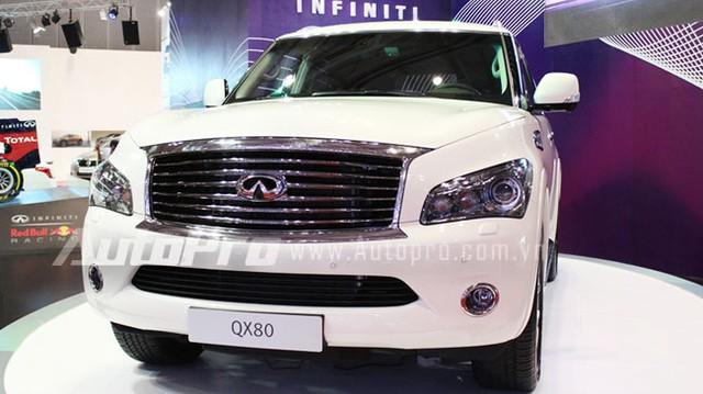VMS 2013: Infiniti QX80 - Xe SUV hạng sang cỡ lớn mới cho người Việt
