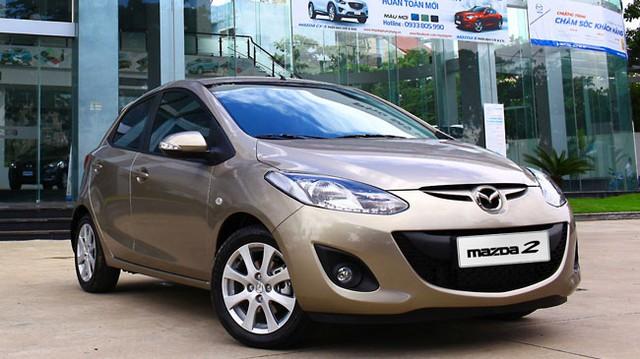 Mazda2 S mới có giá 597 triệu Đồng tại Việt Nam