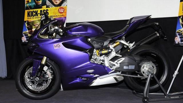 Siêu môtô Ducati 1199 Panigale màu độc