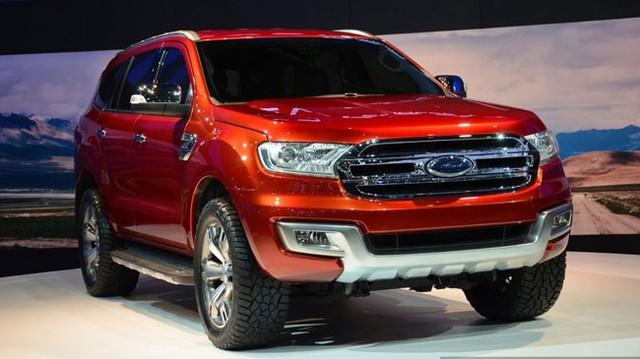 Ford Everest Concept ra mắt thị trường Đông Nam Á