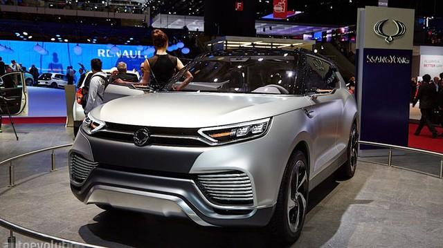 SsangYong X100 - Đối thủ mới của Honda Vezel và Hyundai ix25