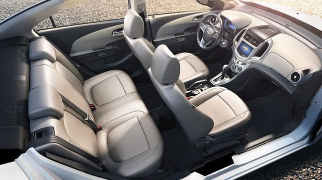 Hé lộ nội thất của Chevrolet Aveo phiên bản nâng cấp