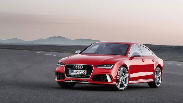 """Audi RS7 Sportback 2015: Điểm nhấn ở đèn pha """"ma trận"""""""