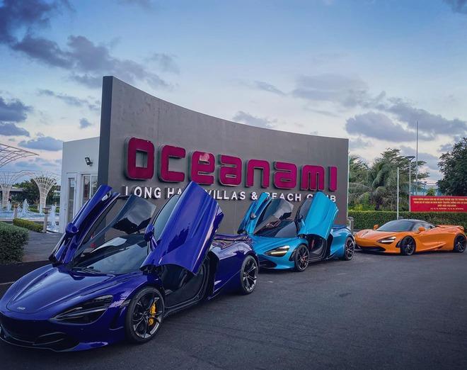 Bộ 3 McLaren 720S hội tụ ở Vũng Tàu: Chiếc màu xanh lạ lẫm gây chú ý