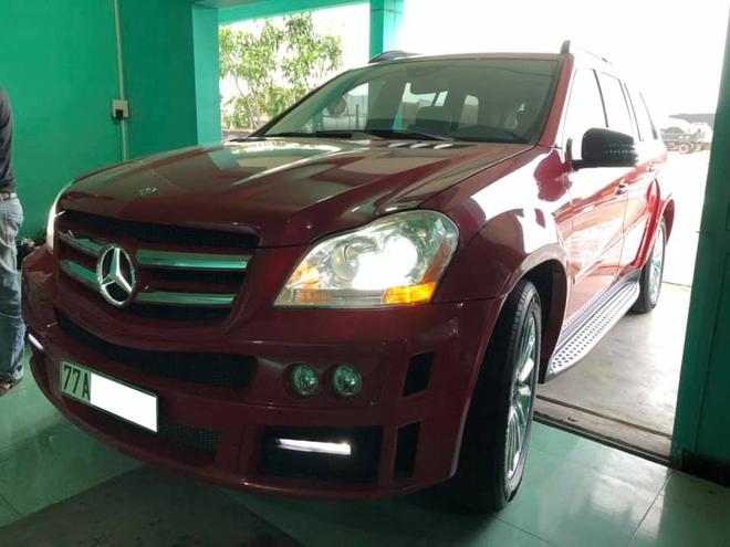 Đại gia Bình Định lột xác Mercedes-Benz GL 450: Độ khủng kiểu Brabus nhưng pha đổi màu còn