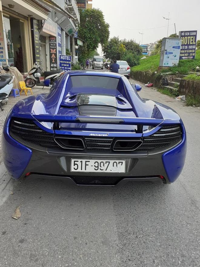 Tung cua Minh nhua va Cuong Do-la McLaren 650S Spider mau Aurora Blue doc nhat Viet Nam tim chu moi tai Ha Noi