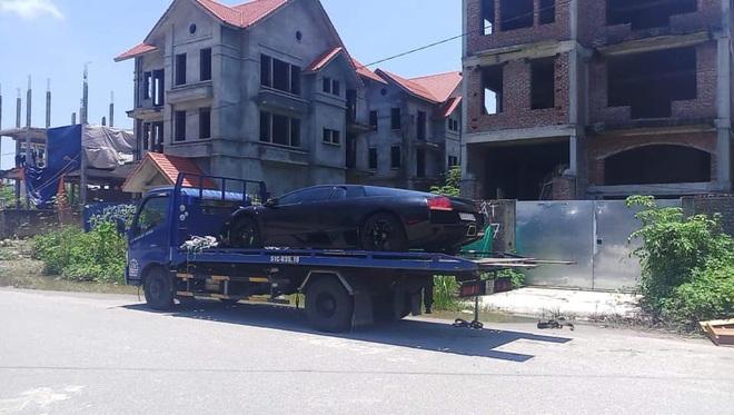 Dai gia Hai Phong am tham tau Lamborghini Murcielago LP640-4 mau com doc nhat Viet Nam