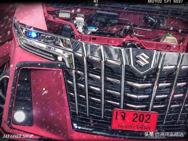 Dan choi do ban tai Suzuki Carry sang phong cach chuyen co mat dat Toyota Alphard