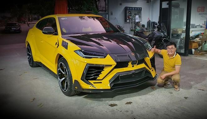 Đại gia độ Lamborghini Urus khủng nhất Việt Nam chơi Tết