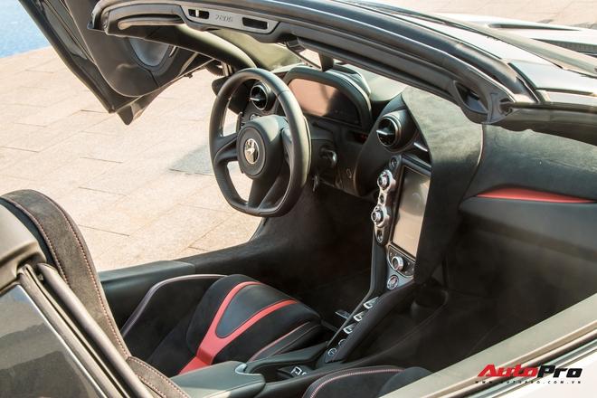 McLaren 720S Spider doc nhat Viet Nam lan dau xuat hien hoan toan truoc cong chung danh tinh chu nhan van con bi an