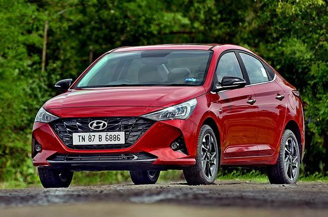 20200624110831hyundai verna front 1603924478113755100681 Lộ hình ảnh Hyundai Accent 2020 chạy thử tại Việt Nam