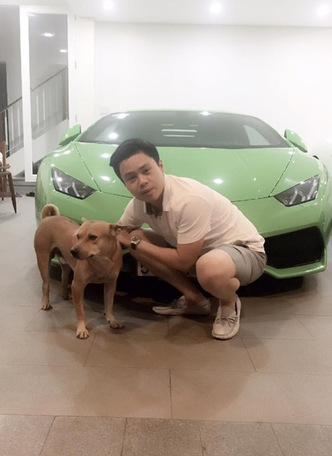 Khoanh khac cuc hiem ben trong can biet thu chua toan sieu xe cua Phan Thanh ai cung tung di qua ma co the khong biet!