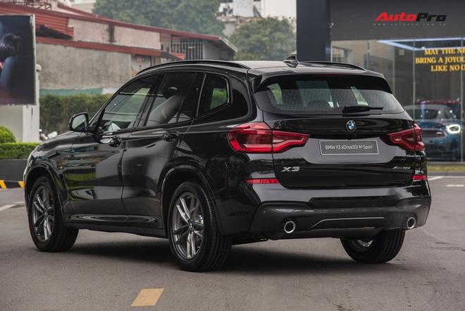 BMW X3 M Sport 2021 về đại lý: Giá gần 3 tỷ, thêm 12 trang bị mới, đấu Mercedes-Benz GLC 300 - Ảnh 10.