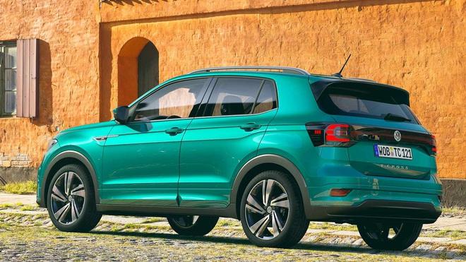autopro volkswagen t cross 2021 ve viet nam 5 1617069329349230467634 crop 16170721377852000301150 VW T-Cross sắp bán tại Việt Nam: Xe Đức cạnh tranh Kia Seltos và Hyundai Kona