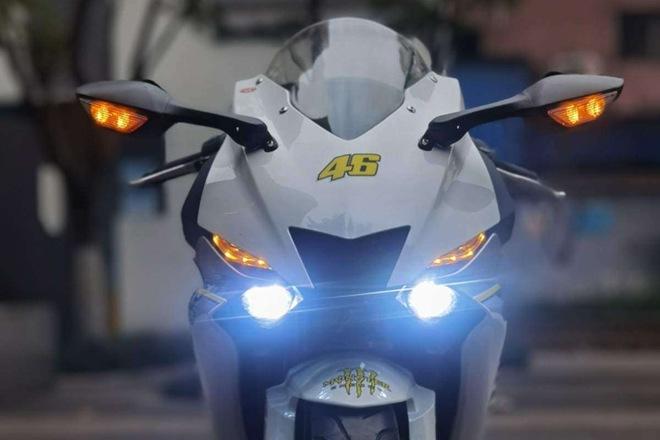 Hang mo to Trung Quoc tung ra mau xe sao chep Yamaha R6 Do hoan thien thap dong ho nhai Kawasaki gia bang 13 ban goc