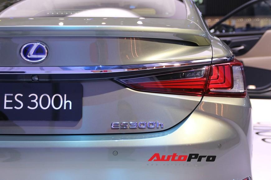 Xem tận mắt Lexus ES 2019 - Đối thủ nặng ký của Mercedes-Benz E-Class ra mắt tại Triển lãm Ô tô Việt Nam 2018 - Ảnh 10.