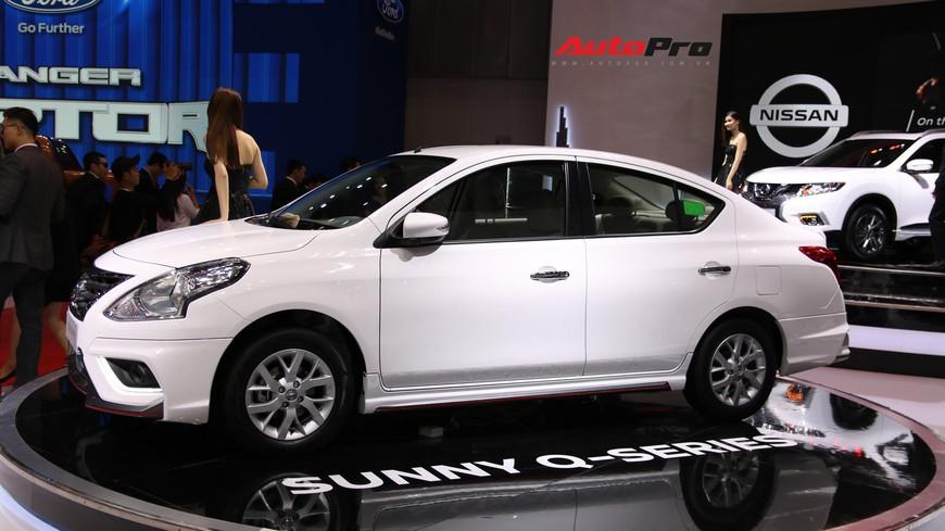 Cận cảnh Nissan Sunny facelift 2018 hứa hẹn đe dọa doanh số Toyota Vios trong nay mai