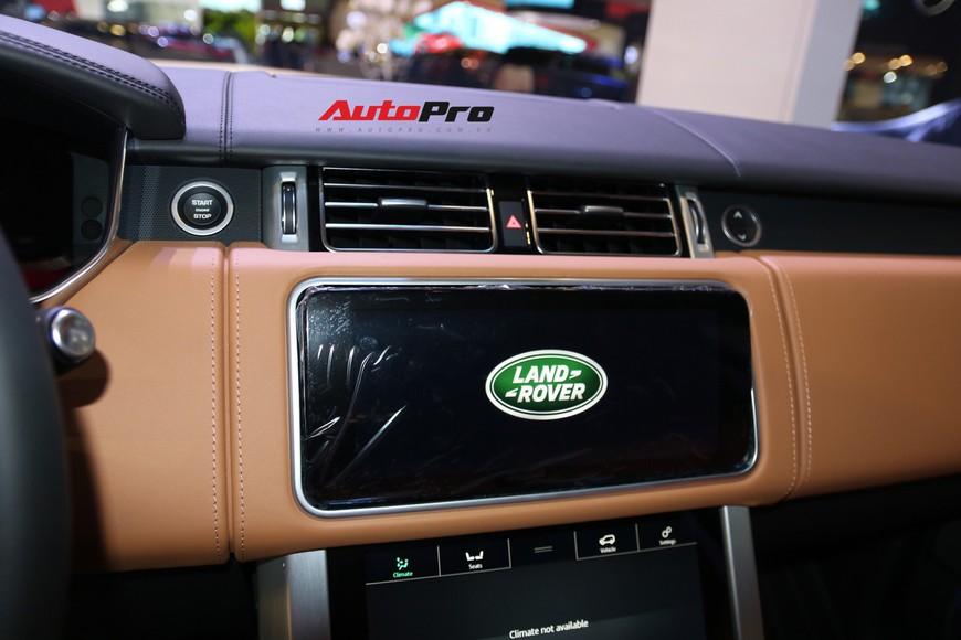 Chi tiết Range Rover Autobiography LWB - SUV sang tiền tỉ trình làng tại Triển lãm Ô tô Việt Nam 2018 - Ảnh 12.