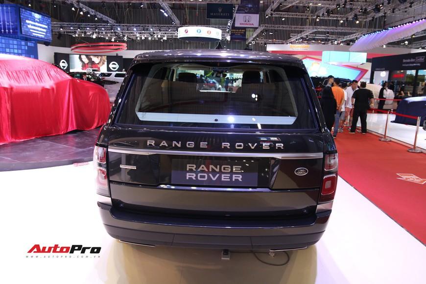 Chi tiết Range Rover Autobiography LWB - SUV sang tiền tỉ trình làng tại Triển lãm Ô tô Việt Nam 2018 - Ảnh 5.