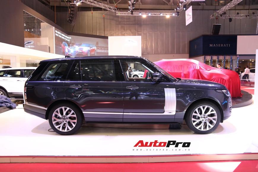 Chi tiết Range Rover Autobiography LWB - SUV sang tiền tỉ trình làng tại Triển lãm Ô tô Việt Nam 2018 - Ảnh 3.