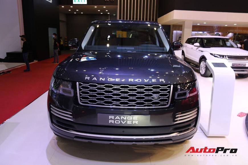Chi tiết Range Rover Autobiography LWB - SUV sang tiền tỉ trình làng tại Triển lãm Ô tô Việt Nam 2018 - Ảnh 1.