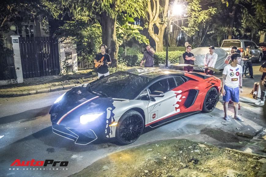 Minh nhựa mang Pagani Huayra, Lamborghini Aventador SV cùng dàn xe khủng đi Phan Thiết ăn mừng ngay trong đêm - Ảnh 6.